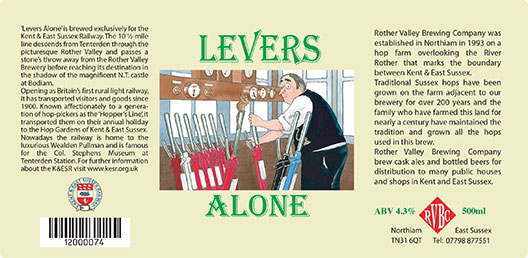 Rother Valley Brewing Company Bottled Leavers